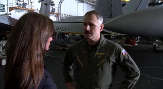 美航母指挥官:我们来海湾是为威慑伊朗 而不是打仗