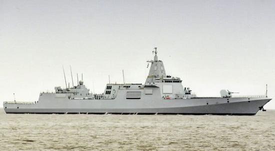055型导弹驱逐舰