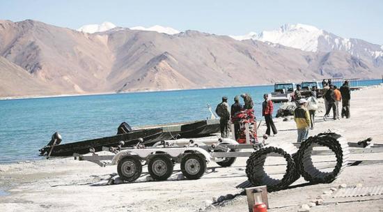 印度军队紧急采购大批装备用于中印对峙