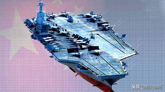 中国新式航母CG图