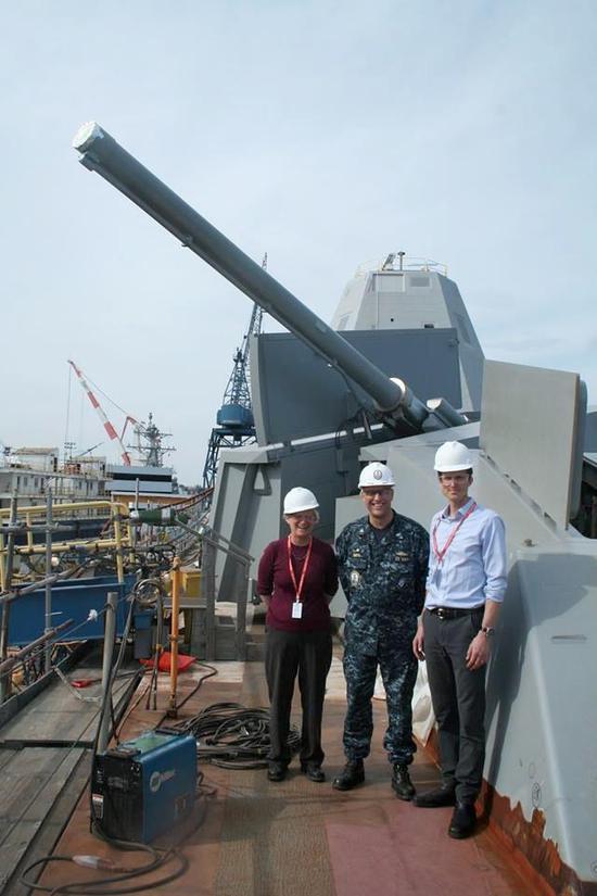 DDG1000的155毫米舰炮