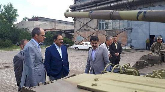 巴方考察堡垒-P主战坦克