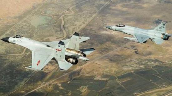 JF-17战斗机也将配备机载有源相控阵雷达