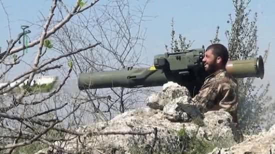 """图片:美国""""陶""""式反坦克导弹在中东泛滥之广!"""