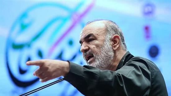 萨拉米将军 图自伊朗官方英文媒体Press TV