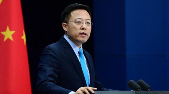 """美情报官员妄称""""中国威胁无与伦比"""" 外交部驳斥"""