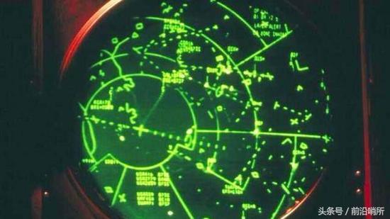 雷达示意图