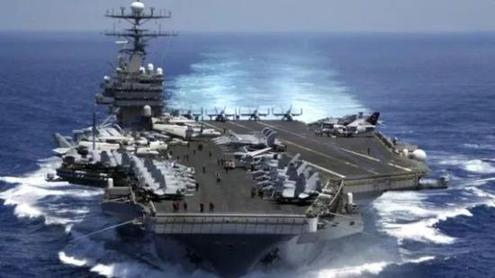 """▲美国海军尼米兹级核动力航空母舰""""卡尔·文森""""号(USS Carl Vinson)"""