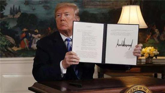 美退出伊核协议是好是坏?这一举动反而成全中国市场