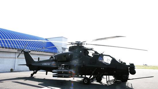 中国直10或已装备石墨烯超级复合装甲