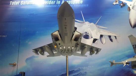韩国推出自研四代机模型 思路类似美F22却无内置弹舱