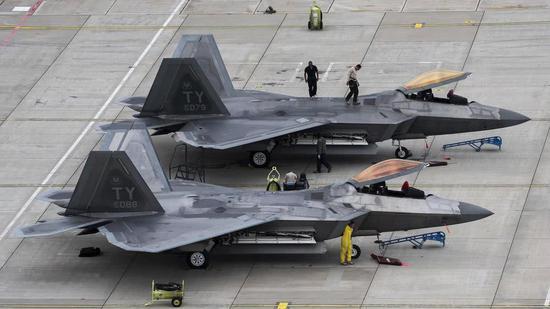 美军遭毁F22或原本已不具备作战能力 仅执行训练任务