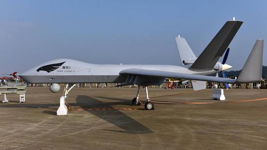 巴铁为何要引进中国无人机 可24小时无缝侦察