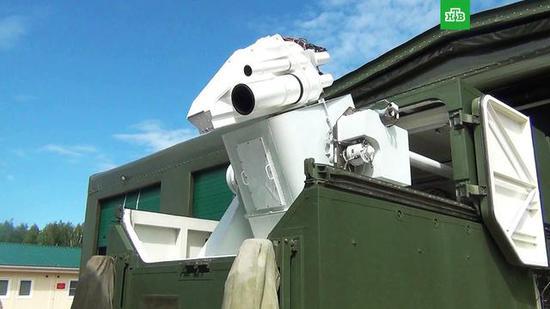 俄公布佩列斯韦特不是直接损伤型的激光武器,而是辐射致盲型。