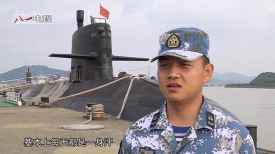 码头上的039B型AIP通例潜艇