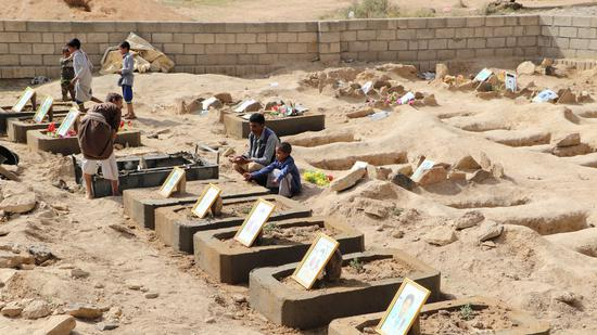 也门墓地(来源:路透社)