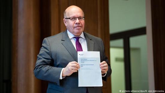 德国经济部长阿特迈尔 图片来自德国之声中文网