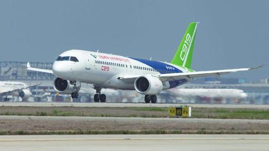 中国C919客机可取而代之