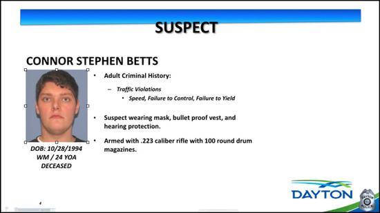 犯罪嫌疑人康纳·贝茨