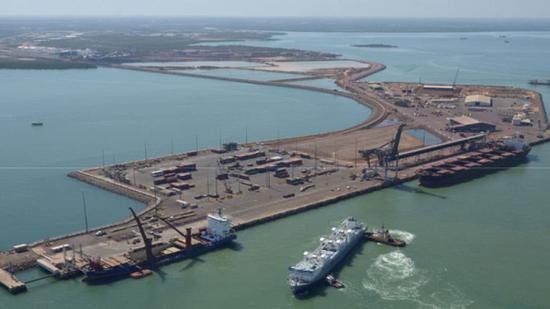 达尔文港 图自澳大利亚北领地政府网站