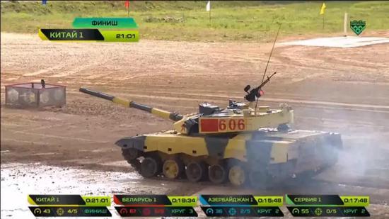 99A坦克炮塔正面厚度超1米 远胜豹2空心装甲