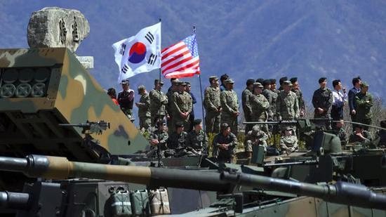 美韩叫停联合军演 美想借此就分担军费问题对韩施压
