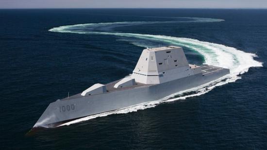 055首舰正式入列 美国人坦承:世界同类军舰中最先进