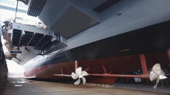 美肯尼迪號航母加快建造:核反應堆水手提早3個月入駐