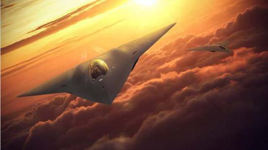 美国第6代战机完成首飞 核心技术由民用公司提供