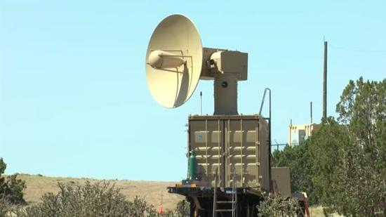 """美国空军研究实验室""""战术高功率作战响应器""""定向能武器样机"""