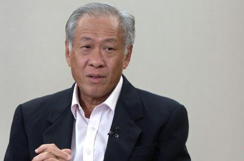 新加坡国防部长黄永宏 图自《联合早报》