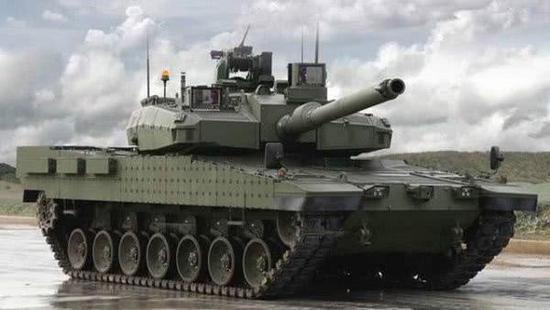 土耳其公开新一代坦克样车,不过它的发动机和综合传动系统还需要从德国进口