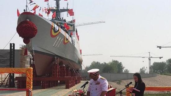 中国出口到马来西亚首艘濒海任务舰下水 单价超3亿元
