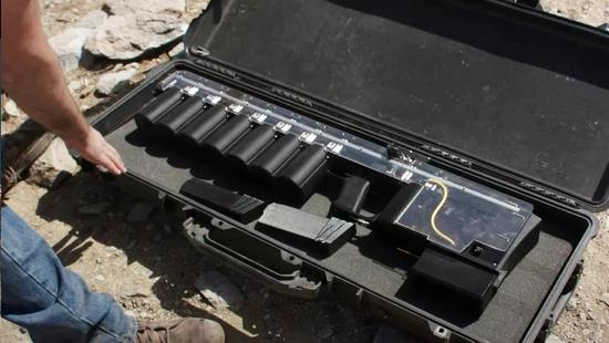 美軍擱置電磁炮后美企業造出電磁步槍 射速100發每分