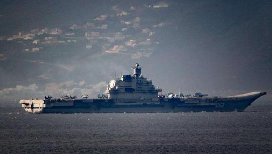 俄罗斯航母的状态实在堪郁闷