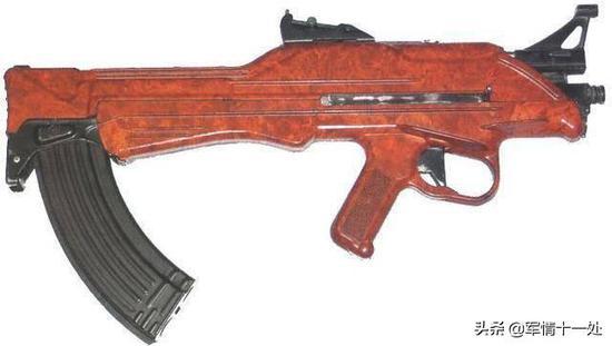 图注:TKB-022系列突击步枪