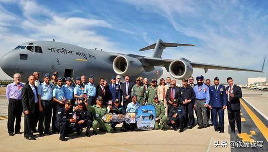 接收11架C17印度拥亚洲最大运输机队?