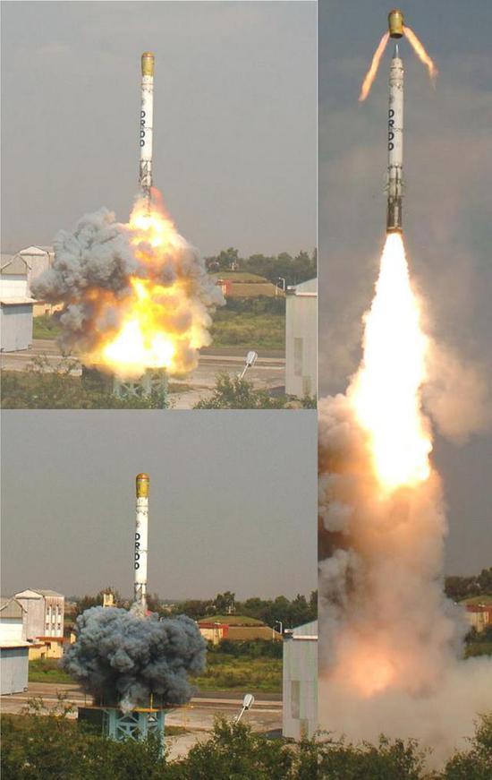 印試射新型導彈可攜帶核彈頭 印媒叫囂:為應對中國