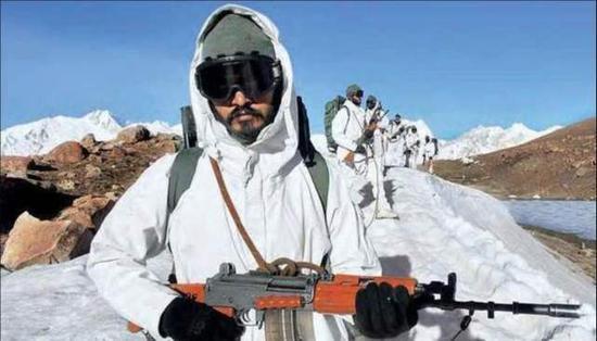 """[印军正准备在所谓""""拉达克""""地区坚守一个冬季]"""