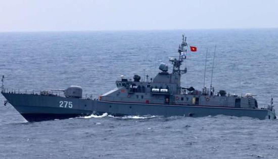 图为越南国产的TT-400TP型巡逻艇。