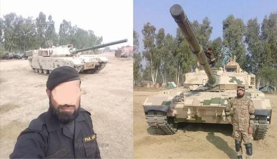 VT-4在巴基斯坦测试的图片