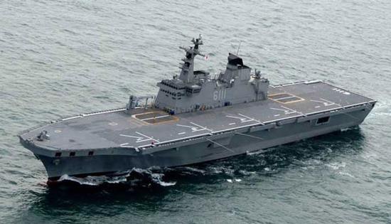 原料图:韩国独岛号两栖抨击舰