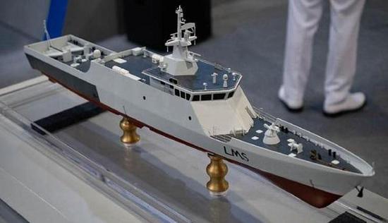 濒海任务舰实现了模块化设计