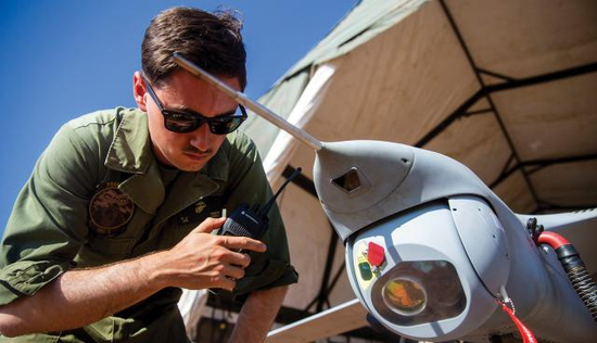 美军用无人机实走海上监视