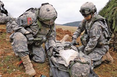 美国陆军研究新型伤口护理凝胶 用于战场快速止血