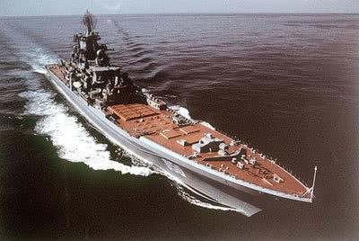 曾令中国羡慕的俄制核动力巡洋舰只能居第二位