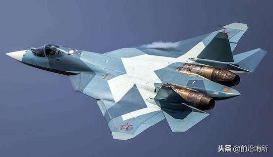 苏-57隐身战斗机