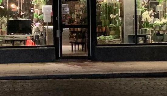 瑞典南部地区发生疑似恐袭案件 地面血迹斑斑