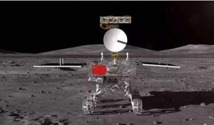 嫦娥四号月球车构图(来源:航天工程中间)