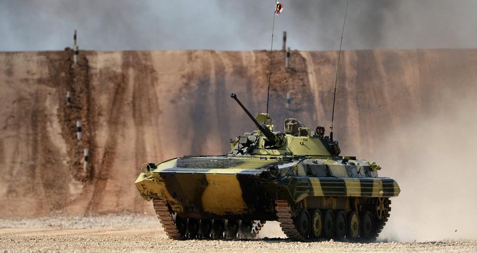 印度陆军的BMP-2 图源:外交媒体